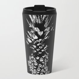 Pineapple with Glitch Travel Mug