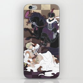 The Game of Checkmate iPhone Skin