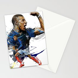 Kylian Mbappé Stationery Cards