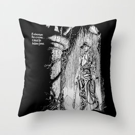 Indiana Jones and the Temple of Doom Throw Pillow