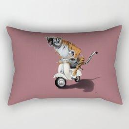Rooooaaar! (colour) Rectangular Pillow