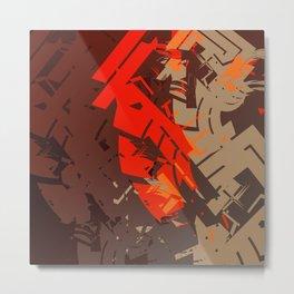 31018 Metal Print