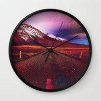verse Wall Clocks featuring Verse II by Daniel Montero