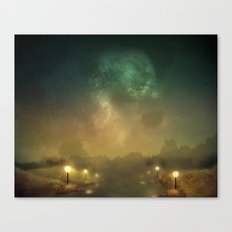 Ghost Lights Canvas Print