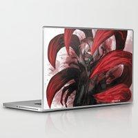 tokyo ghoul Laptop & iPad Skins featuring tokyo ghoul by keiden