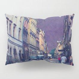 Cracow Slawkowska street #cracow #krakow Pillow Sham