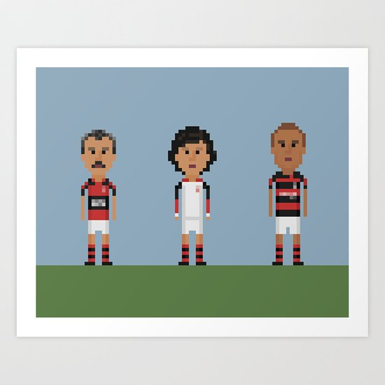 Flamengo Art Print
