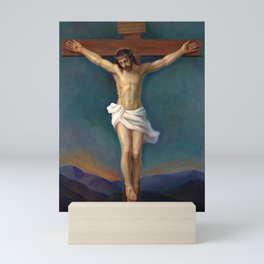 Jesus Christ On The Cross - Crucifixion Mini Art Print