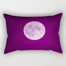 Pink Moon Dust Rectangular Pillow