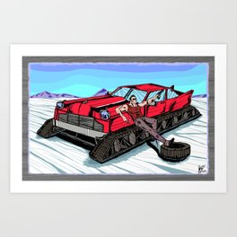 All Terrain: Tundra Art Print