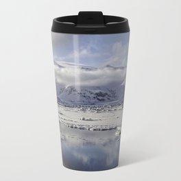 Jokulsarlon Lagoon Beach 12  Travel Mug