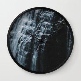 Middle Letchworth Falls Wall Clock