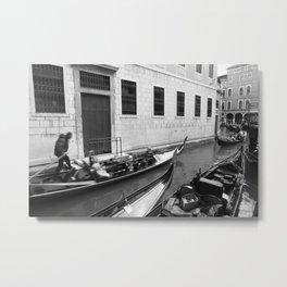 On a (gondola) ride Metal Print