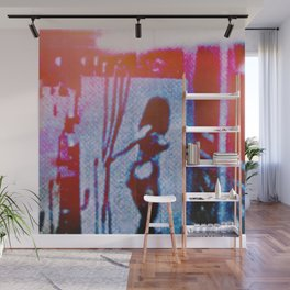 Crossing Wires Wall Mural