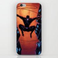 daredevil iPhone & iPod Skins featuring DareDevil by J Skipper