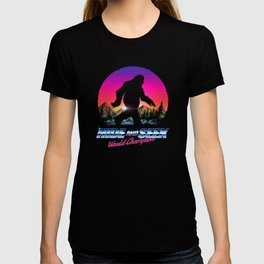 Hide And Seek World Champion Bigfoot is Real T-shirt