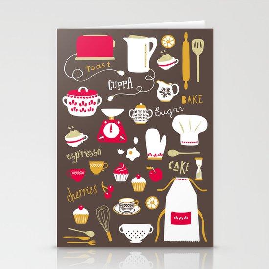 Teatime Treat Stationery Cards
