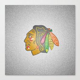 Blackhawks Logo Canvas Print