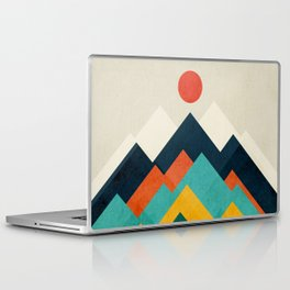 The hills are alive Laptop & iPad Skin