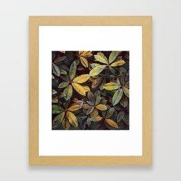 Inspired Foliage Framed Art Print