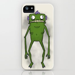 Swamp Monster iPhone Case