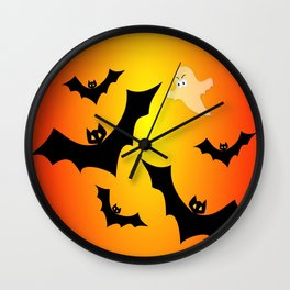 Bats and a Ghost Wall Clock