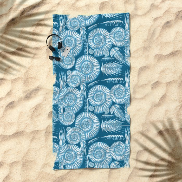 AMMONITE COLLECTION Beach Towel