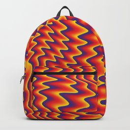 liquify illusion Backpack