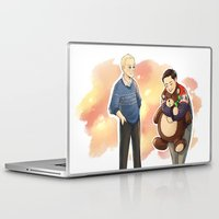 danny haas Laptop & iPad Skins featuring Happy Christmas, Danny by Abbi Laura