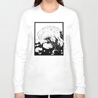 moby dick Long Sleeve T-shirts featuring Moby Dick by JoJo Seames