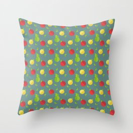 Fruits Pattern Throw Pillow