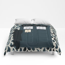 Dr Who and his Timey-Wimey Vehicle Comforters