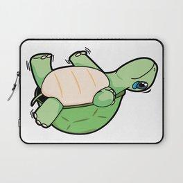 Little Turtle Down! Help Him! Laptop Sleeve