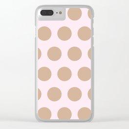Cashmere Clear iPhone Case