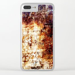 Vault Texture Clear iPhone Case