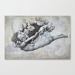 Le jardin d'Alice Canvas Print