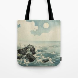Kojima Zu - Waves Tote Bag
