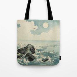 Kojima Zu - Waves Tote Bag