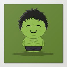 ChibizPop: It ain't easy being green! Canvas Print
