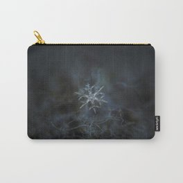 Real snowflake macro photo - Rigel Carry-All Pouch