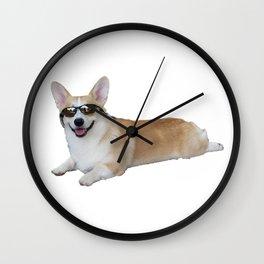 Cool Corgi Wall Clock