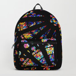 Church stained glass windows colors Backpack