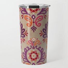 Pink Brooch Travel Mug
