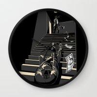 film Wall Clocks featuring Film noir by wonman kim
