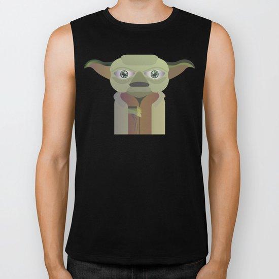Yoda flat Biker Tank