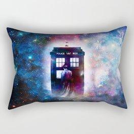tardis nebula Rectangular Pillow