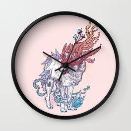 Spirit Animal - Wolf Wall Clock