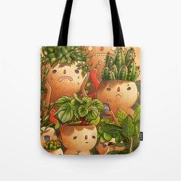 Plant-minded Tote Bag