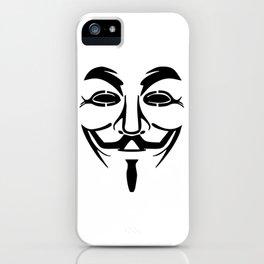 Anonymous Vendetta iPhone Case