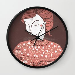 The Botanist Wall Clock